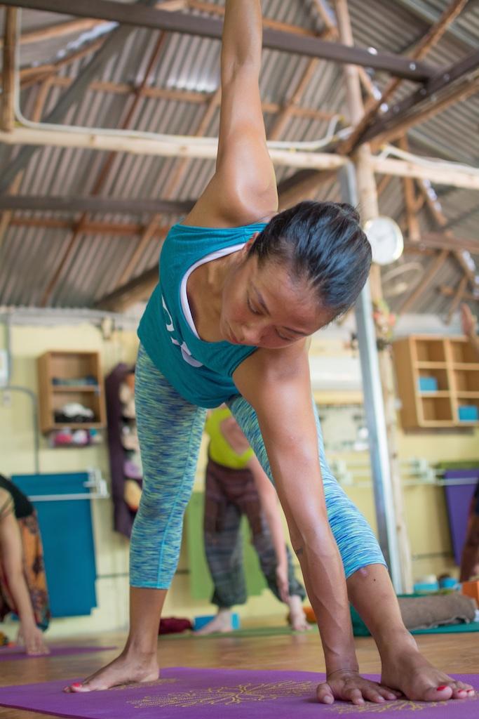 Learn new yoga positions in Krabi