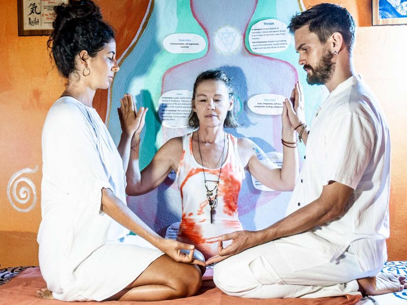 Yoga Reiki Master Healing Thailand