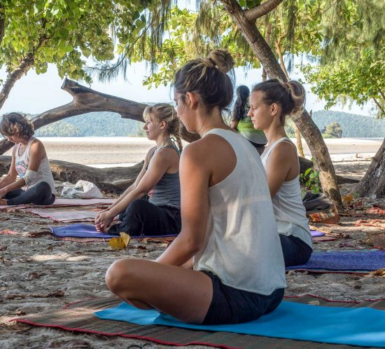 Beach Yoga - Yoga Teacher Training