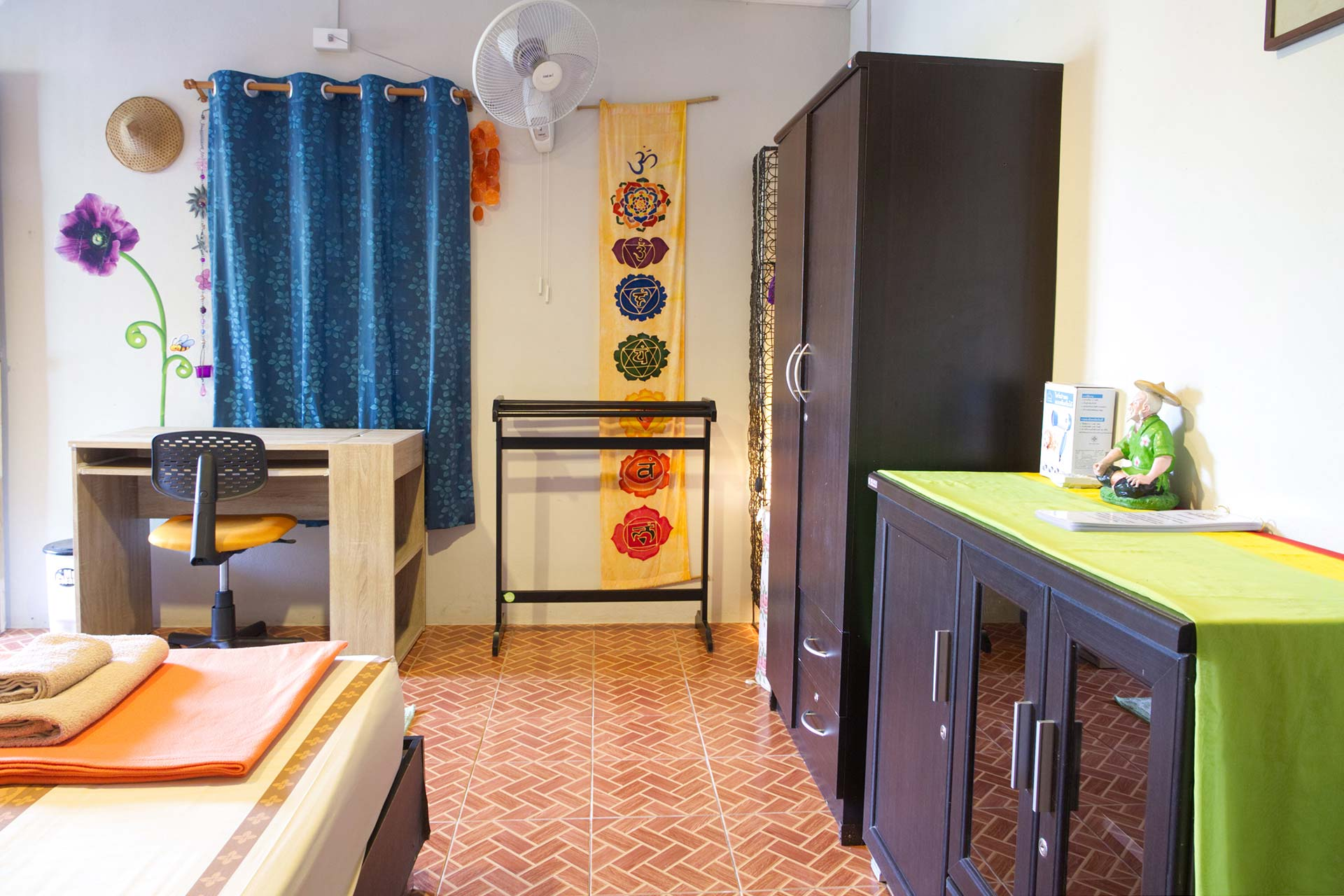 Deluxe Room at Yoga Guesthouse Thailand