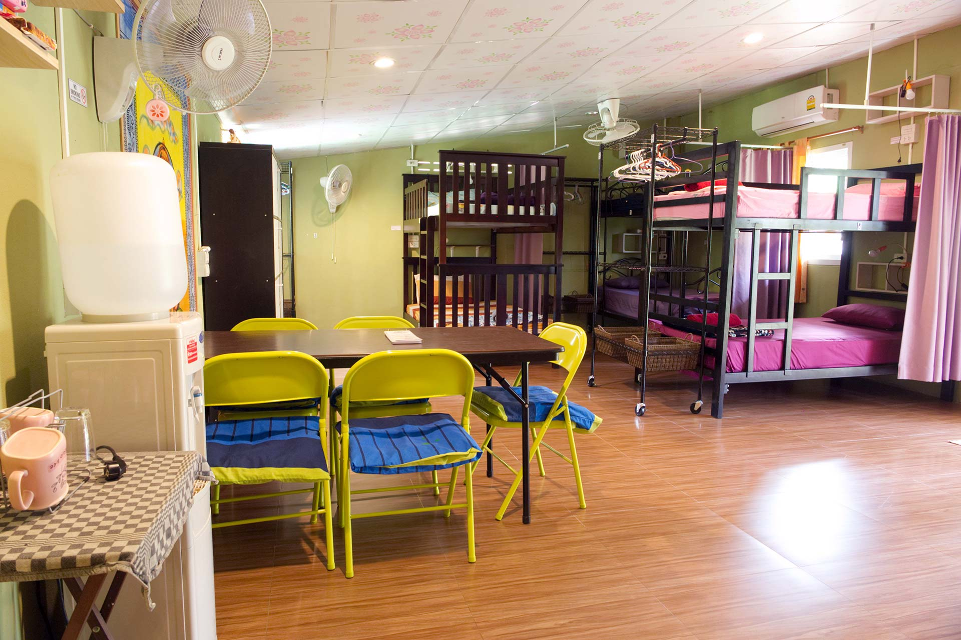 Dormitory at Yoga Guesthouse Thailand